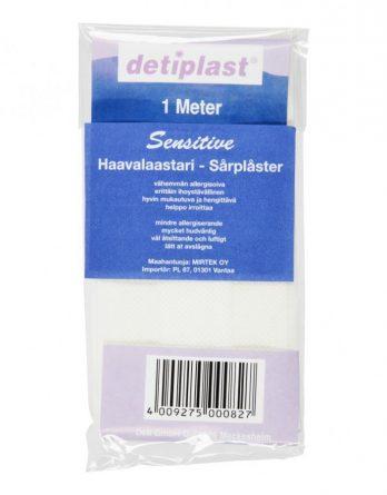 Detiplast Sensitive Haavalaastari 1 M
