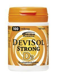 DeviSol Strong 100 µg 100 tablettia *