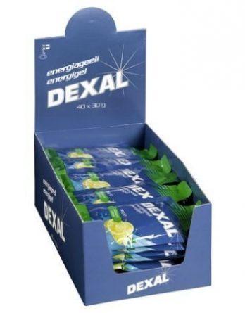 Dexal Energy Gel Sitruuna 40 x 30 g