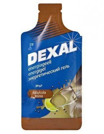 Dexal Energy-gel kola 40 kpl (laatikko)