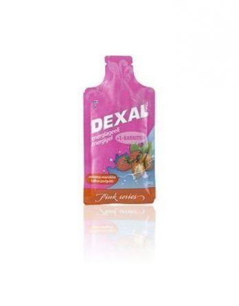Dexal Energy-gel vadelma-mansikka 40 kpl (laatikko)