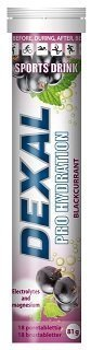 Dexal Pro Hydration blackcurrant poretabletti 18 kpl