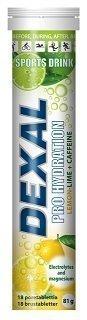 Dexal Pro Hydration lemon-lime+ caffeine poretabletti 18 kpl