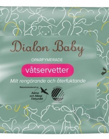 Dialon Baby Våtservetter 72 kpl