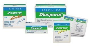 Diasporal Magnesium 100mg 50 purutabl.