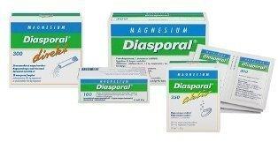 Diasporal Magnesium 250mg Aktiv 20 poretabl.