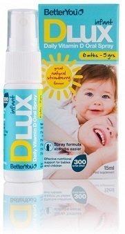 Dlux Infant vitamiinisuihke pienille lapsille 15 ml