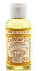 Dr Bronner Citrus Orange Liquid Soap 59 ml