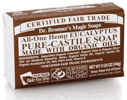Dr Bronner Eucalyptus Bar Soap