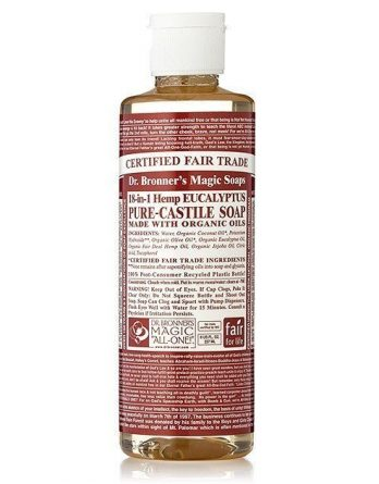 Dr Bronner Eucalyptus Liquid Soap 236 ml