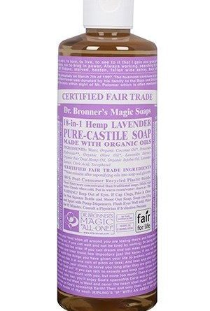 Dr Bronner Lavender Liquid Soap 473 ml