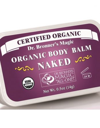 Dr Bronner Naked Organic Body Balm 14 g