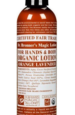 Dr Bronner Orange & Lavender Lotion 237 ml