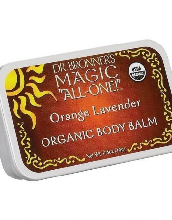 Dr Bronner Orange Lavender Organic Body Balm 14 g