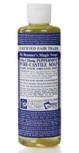 Dr Bronner Peppermint Liquid Soap 236 ml