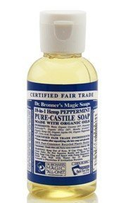Dr Bronner Peppermint Liquid Soap 59 ml