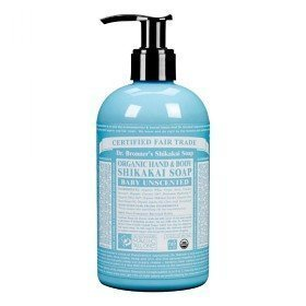 Dr Bronner Shikakai Hand & Body Soap Unscented 355 ml