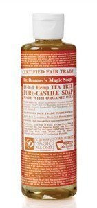 Dr Bronner Tea Tree Liquid Soap 236 ml