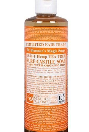 Dr Bronner Tea Tree Liquid Soap 473 ml