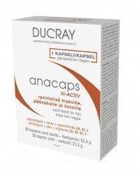 Ducray Anacaps tri-ACTIV ravintolisä 30 kapselia