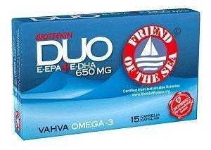 Duo E-EPA + E-DHA 650 mg 15 kaps.