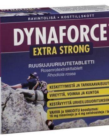 Dynaforce Extra Strong ruusujuuritabletit