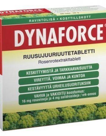 Dynaforce ruusujuuritabletit