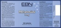 EBN Melatoniini 1 mg 180 tabl