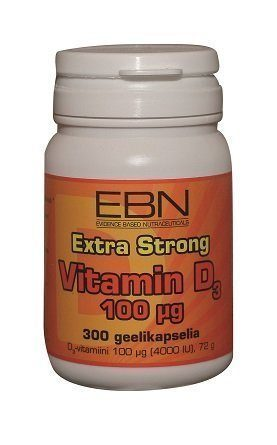 EBN Vitamin D3 100 µg 300 kaps