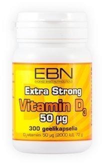 EBN Vitamin D3 50 µg 300 kaps