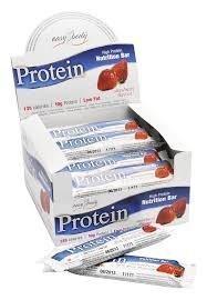 Easy Body Protein Bar mansikka 35g x 24 kpl
