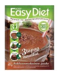 Easy Diet 3 in 1 Suklaanmakuinen jälkiruoka 1 annospussi (49 g)