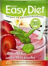 Easy Diet Mansikkasmoothie 1 annospussi (45 g)