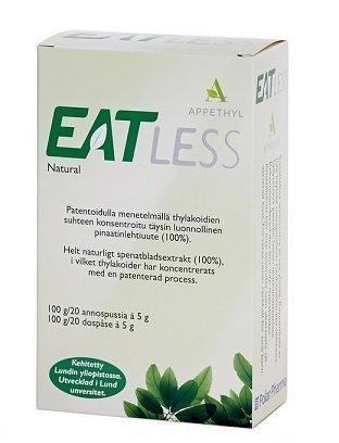 Eatless Appethyl pinaattiuute 20x5g