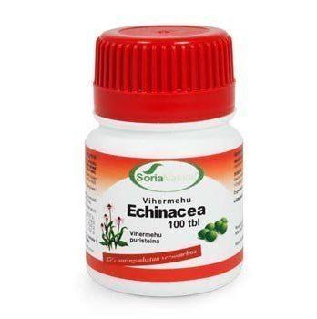 Echinacea Vihermehu Greentabs 100 tablettia