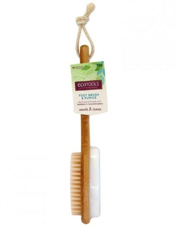 Ecotools Bamboo Foot Brush & Pumice 1 kpl