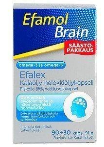 Efamol Brain 500mg 90 kapselia + 30 kpl (Efalex)