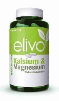 Elivo Kalsium & Magnesium 120 tablettia