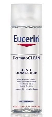 Eucerin DermatoCLEAN 3 in 1 Cleansing Fluid 200 ml