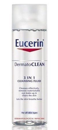 Eucerin DermatoCLEAN 3 in 1 Cleansing Fluid 200 ml