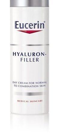 Eucerin Hyaluron-Filler päivävoide normaalille ja sekaiholle 50 ml