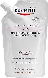 Eucerin Ph5 Shower Oil Hajusteeton Täyttö 400 ml