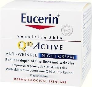 Eucerin Q10 Active Anti-Wrinkle Night Cream 50 ml