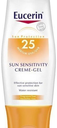 Eucerin Sun Sensitivity Creme-Gel SPF 25 150 ml