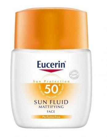 Eucerinsun Fluid Face Mattifying Spf 50+ 50 ml