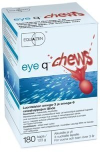 Eye Q CHEWS 180 purukaps.