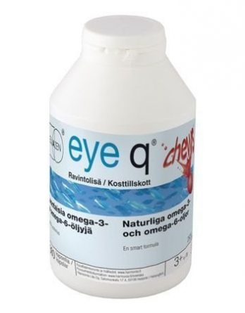 Eye Q Chews Mansikanmakuinen 360 tabl