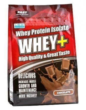 FAST Whey+ Heraproteiinijauhe 600 g suklaa