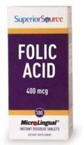 FOLIC ACID 400 mcg 100 tablettia