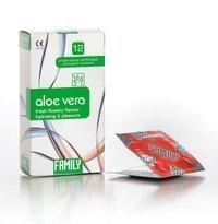 Family Aloe Vera kondomi 12 kpl